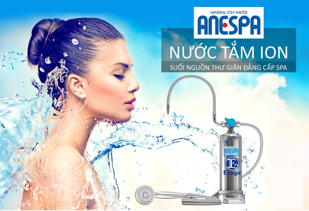 máy tắm khoáng ion Anespa Enagic Thế Giới Lọc Nước Thủ Đức